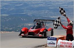 Pikes Peak International Hill Climb 2014 MiEV Evolution III Wins Electric Modified Division Honors