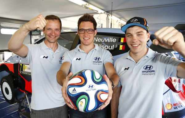 Hyundai Motorsport kicks off celebration of Hyundai's sponsorship of FIFA World Cup