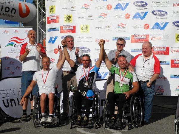 Luxembourg Handbike Team Top Performance OÖ Paracyclingtour Autriche