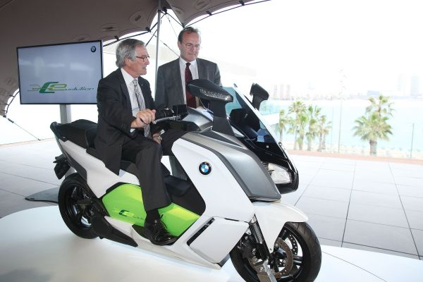 New BMW Electrical Scooter's launch in Barcelona