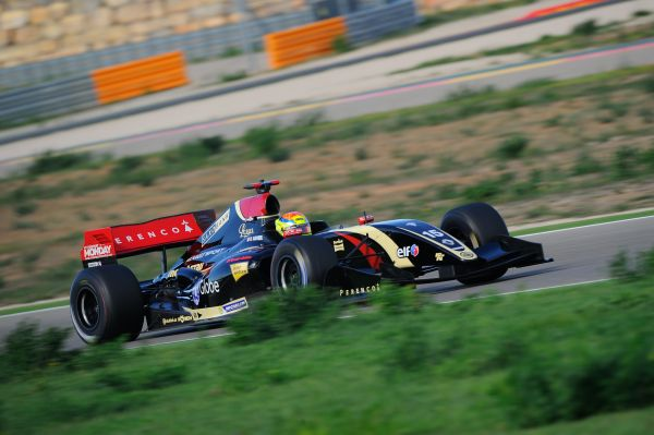 Lotus stays on top with Vaxiviere at Motorland Aragon