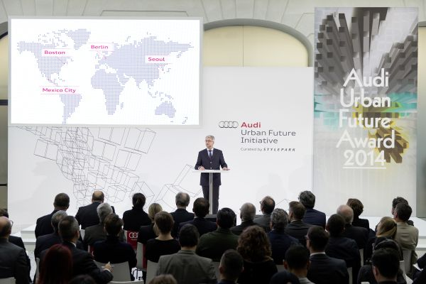 "Audi introduces the ""Urban Agenda"": More space and better quality of life in cities"