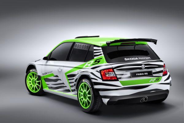 skoda zeigt fabia r 5 concept car weltpremiere auf der essen motor