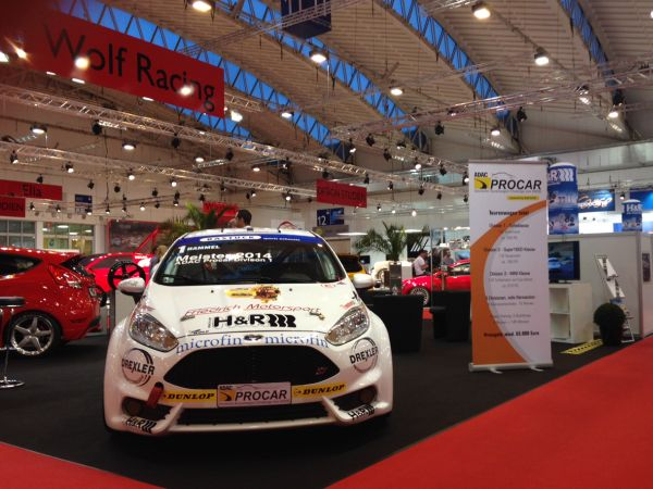remiere of the new 2015 DTC ADAC Procar vehicles in Division 1