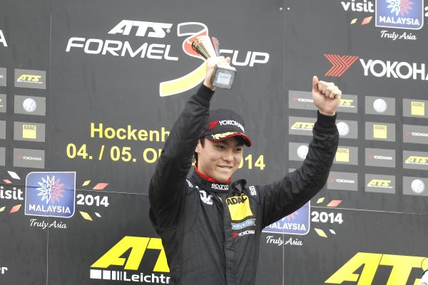 Malaysian Weiron Tan storms to a double win at Hockenheim