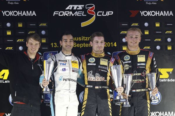 Markus Pommer wins in the rain at Lausitzring