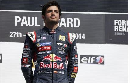 Record victory for Carlos Sainz at Paul Ricard
