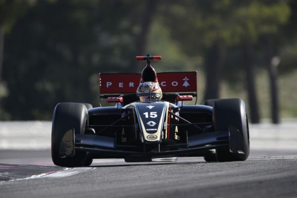 Marlon Stockinger dominates practice at Castellet