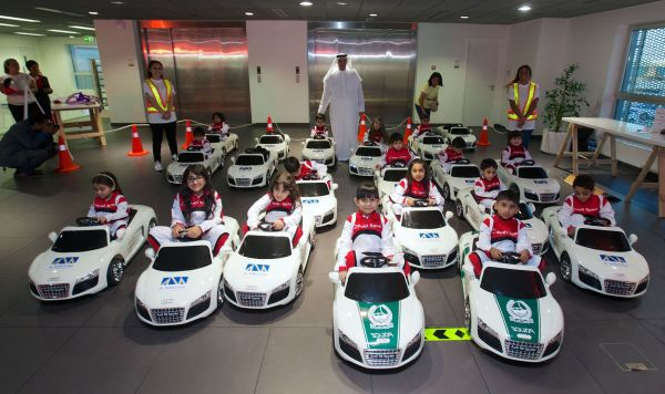 Al Nabooda Automobiles launches a new Audi Driving Experience for children