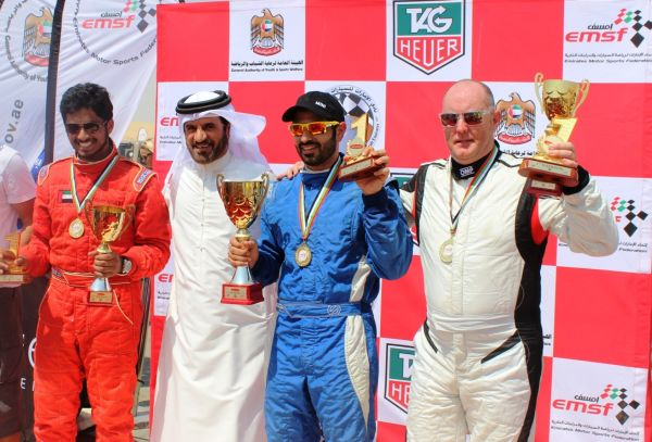UAE trio make winning start for Emirates Desert Championship