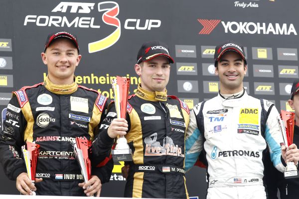 Nabil Jeffri is the runner-up in the 2014 ATS Formula 3 Cup