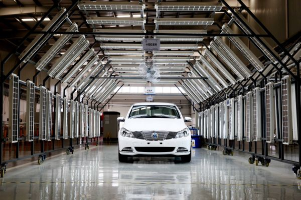 DENZA rolls off production lines in China marking another key milestone for Daimler