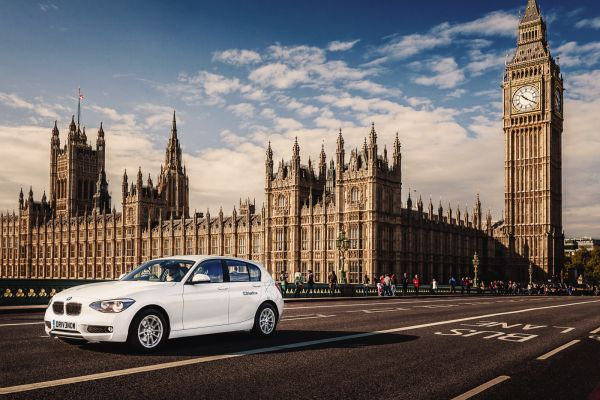 DriveNow launches in London - BMW i3 cars to be introduced to the fleet in 2015.