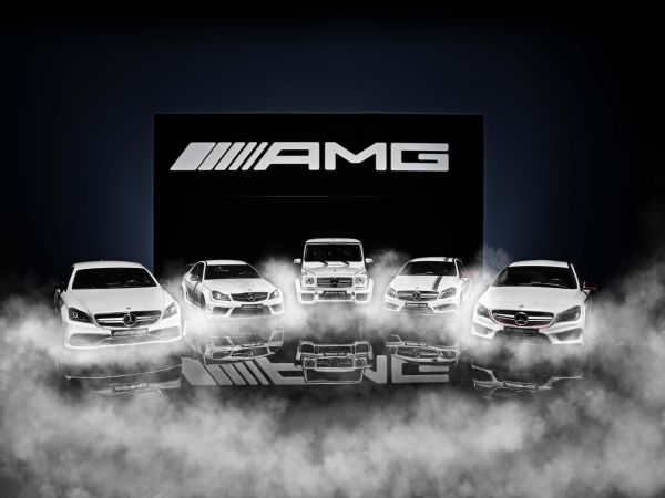 "Mercedes-AMG Limited Edition ""White Series"" Model Cars"