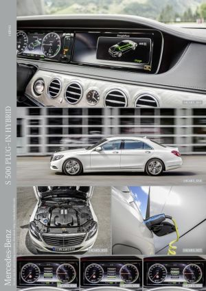 Strategic hybrid initiative from Mercedes-Benz: Ten new plug-in hybrids by 2017