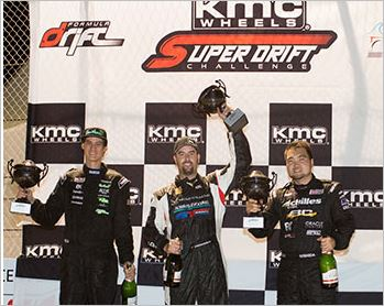 KMC Super Drift Challenge Results, Conrad Grunewald Takes the Victory