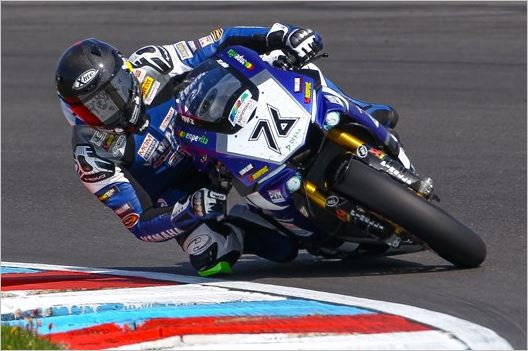 Yamaha Kicks Off IDM Challenge with Two Podiums at the Lausitzring
