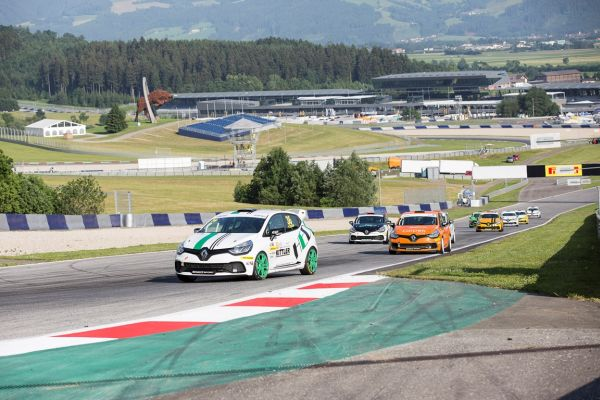 Renault Clio Cup Central Europe in Spa Francorchamps