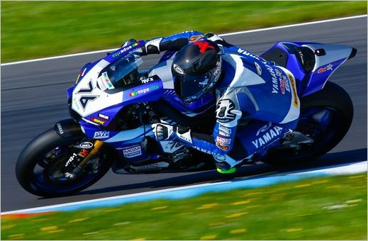 Team Yamaha MGM Ready for Second Superbike IDM Round in Zolder