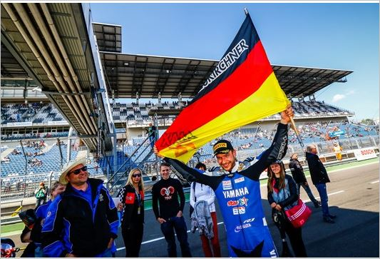 Team Yamaha MGM Celebrates First Superbike*IDM Win at the Lausitzring