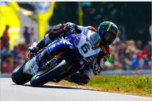 Strong Performance but Unfortunate Ending for Team Yamaha MGM in Schleiz