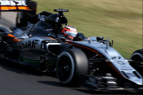 Sahara Force India F1 Budapest free practice review