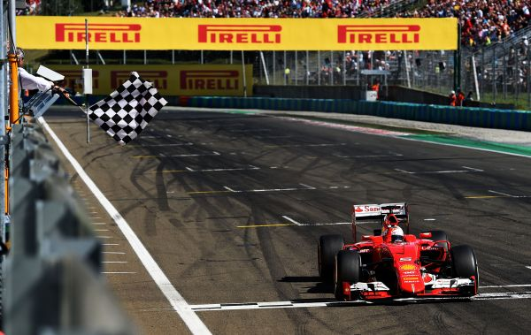 Vettel wins as revolutionary Shell fuel brings Scuderia Ferrari significant performance gain