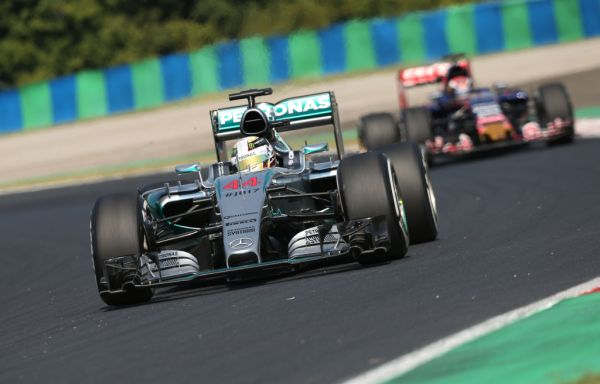 F1 Hungarian GP Qualifying result