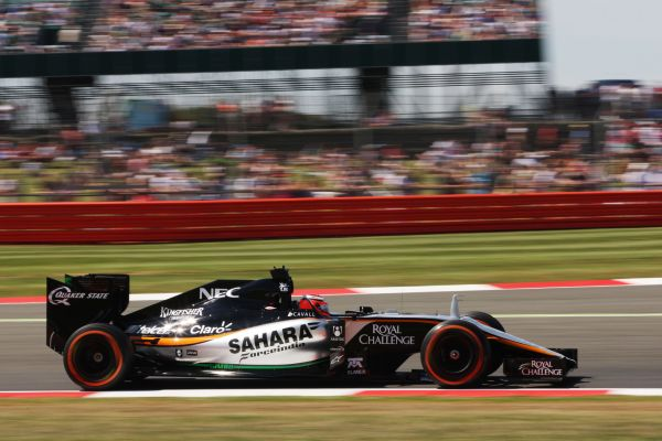 Sahara Force India F1 Silverstone practices