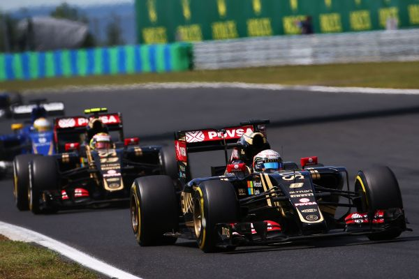 Lotus F1 Team Hungarian GP race review
