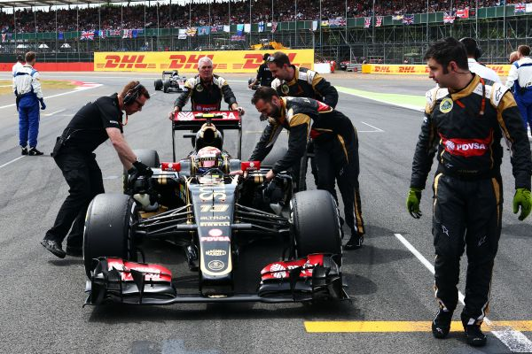Lotus F1 Team British GP Silverstone race review