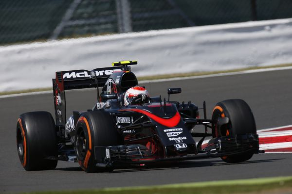 McLaren Honda F1 British GP race