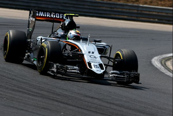 Sahara Force India F1 Hungarian GP qualifying
