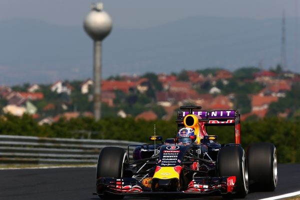 Infiniti Red Bull Racing F1 Hungarian GP qualifying