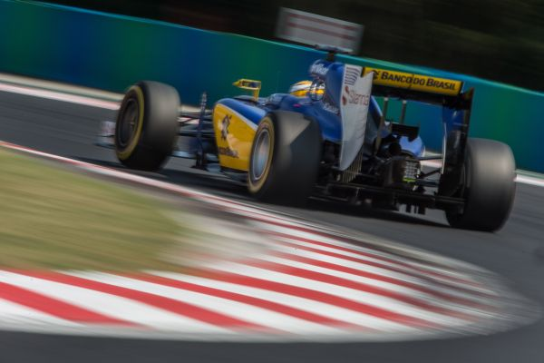 Sauber F1 Team Hungarian GP qualifying