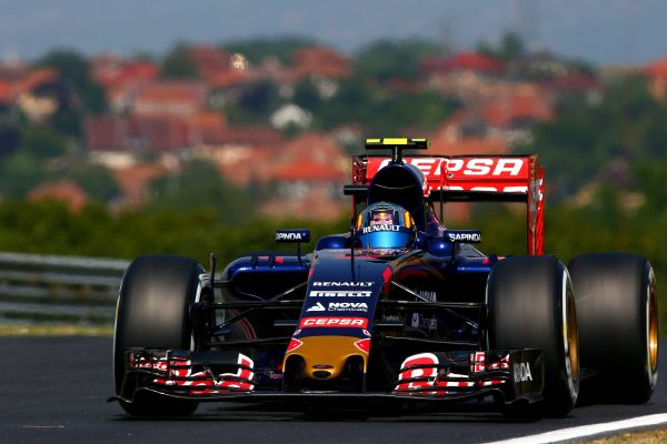 Scuderia Toro Rosso F1 Hungarian GP practices review