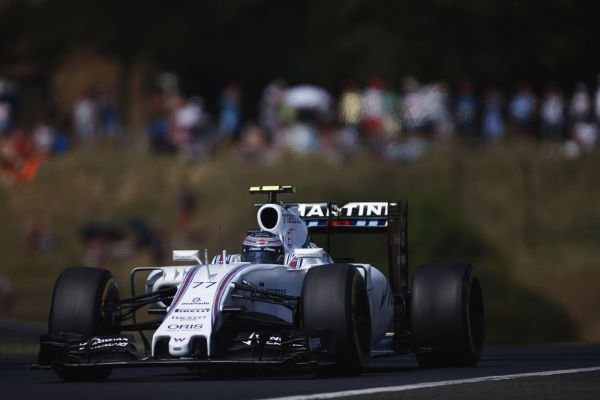 Williams Martini Racing F1 Hungarian GP qualifying