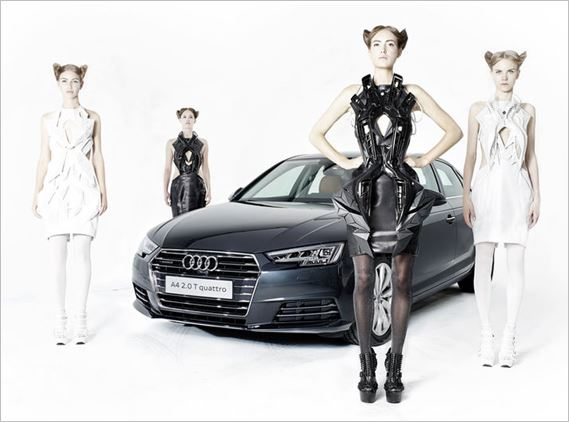 Audi meets fashion at Berlin Fashion Trade Shows